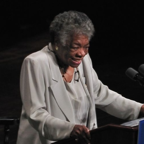 Maya Angelou in 2008